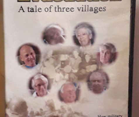 'Evacuation' DVD of interviews with local people affected by the D-Day landing rehearsals in the South Hams
