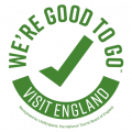 'We're Good to Go' Visit England kitemark